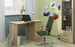 Цвета письменных столов в интерьере