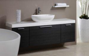Раковины с тумбой в ванную комнату: виды, материалы и формы
