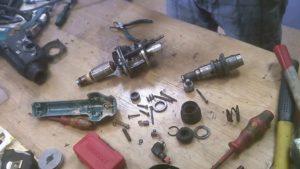 Как разобрать и отремонтировать перфоратор?