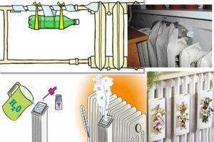 Увлажнитель воздуха на батарею: виды и особенности применения