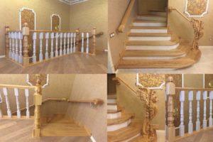 Лестничные балясины из дерева: натуральная красота и комфорт