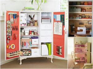 Шкафы для рукоделия: советы по выбору