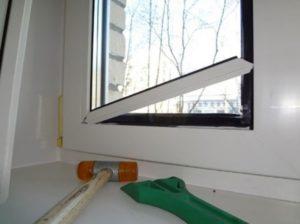 Как правильно выполнить замену штапика на пластиковом окне?