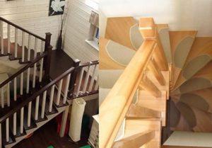 Лестницы из дуба: особенности конструкций и критерии выбора