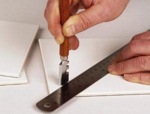 Как правильно резать плитку?