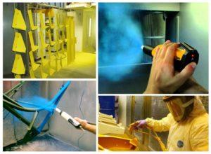 Особенности процесса окраски порошковой краской