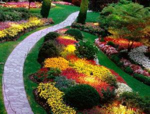 Особенности ландшафтного дизайна клумбы с цветами