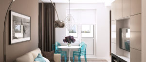 Современные идеи оформления интерьера двухкомнатной квартиры