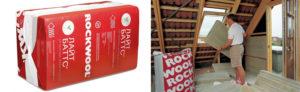 Минеральная вата Rockwool: характеристики и применение
