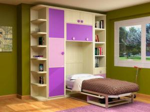 Выбираем детскую откидную кровать-шкаф
