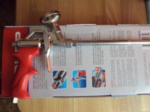 Пистолеты Зубр для монтажной пены: особенности выбора и использования