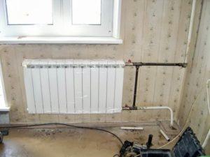 Как правильно осуществить установку батарей отопления в квартире?