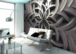 Необычные 3D обои для стен: стильные решения в интерьере