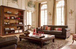 Мебель для гостиной в классическом стиле: примеры красивого дизайна