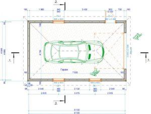 Какой размер выбрать для гаража? Стандартные и оптимальные варианты