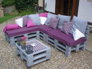 Садовая мебель из поддонов: что можно сделать из деревянных паллет?