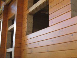 Внешнее и внутреннее окрашивание дома из бруса