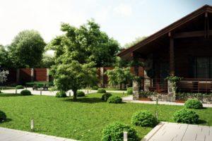 Ландшафтный дизайн загородного дома: особенности, идеи и примеры реализации