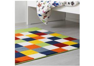 Детские ковры Ikea: модели и их характеристика