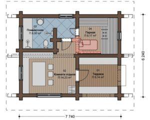 Тонкости планировки бани
