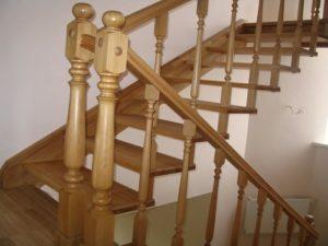 Тонкости процесса изготовления перил для лестницы