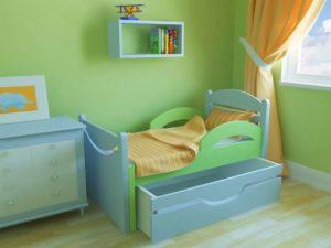 Выбираем кровать для ребенка от 3 лет