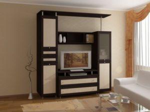 Мини-стенки для гостиной: особенности выбора