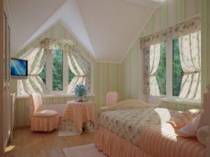 Подбираем шторы на нестандартные окна