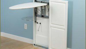 Шкафы со встроенной гладильной доской