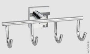 Выбираем крючки для ванной комнаты