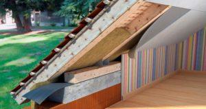 Технология утепления крыши загородного дома