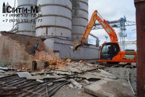 Тонкости демонтажа кирпичных сооружений