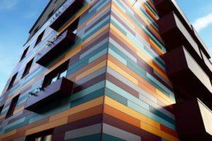 Современные навесные фасадные системы