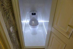 Как выбрать освещение для туалета?