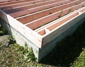 Пошаговая инструкция по строительству фундамента каркасного дома