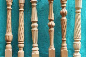 Тонкости изготовления плоских деревянных балясин