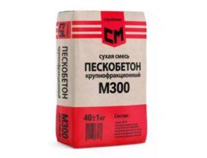 Особенности сухой смеси М300