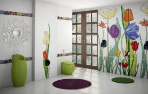 Плитка с рисунком: красивые решения для вашего интерьера