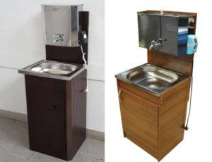 Дачные умывальники с подогревом воды: особенности и преимущества
