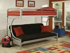 Двухъярусные кровати с диваном внизу для родителей: разновидности и тонкости выбора