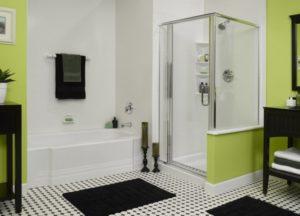 Душ в ванной без душевой кабины: тонкости оформления