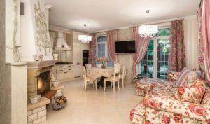 Кухня-гостиная в стиле прованс: уют и практичность в интерьере