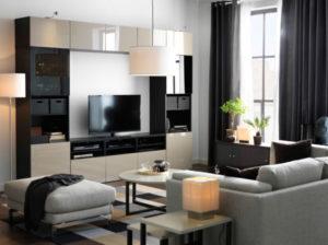 Мебель Ikea для гостиной