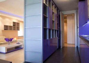Для чего нужен шкаф-перегородка?