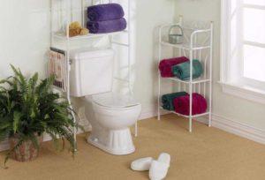 Напольные этажерки для ванных комнат: разнообразие моделей и советы по выбору