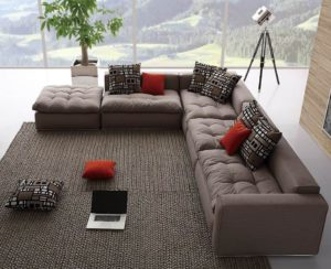 Как выбрать большой диван для гостиной?