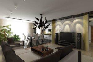 Особенности создания оригинального дизайна гостиной