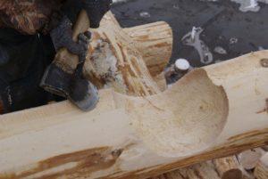 Сруб в чашу: особенности технологии строительства