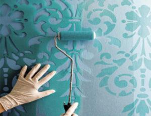 Трафареты под покраску: разновидности и применение