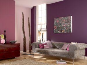 Матовая краска для стен: тонкости оформления интерьера